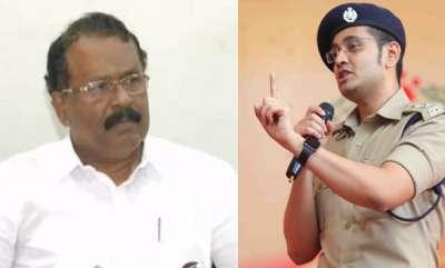 kerala-sreedharan-pillai-slams-police-to-file-complaint-against-yathish-chandra-ips