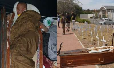 latest-news-khoisan-activist-sleeps-in-coffin