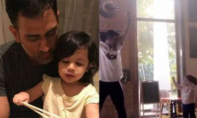 latest-news-siva-turns-into-dance-teacher-for-daddy-dhoni