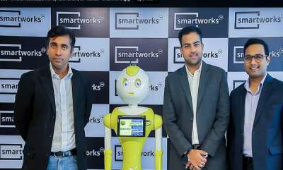 business-smartworks-opens-flagship-centre-in-bengaluru-debuts-smart-mitri-the-worlds-first-ai-enabled-she-robot