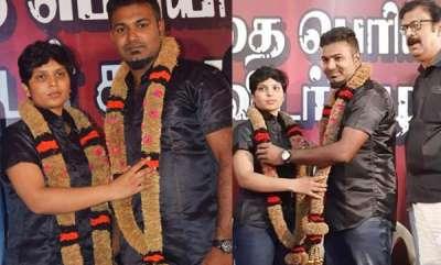 latest-news-tamil-nadu-honour-killing-survivor-gowsalya-remarries-in-self-respect-wedding-ceremony