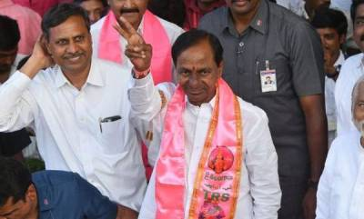 india-kcr-sworn-in-returns-as-telangana-cm-for-second-straight-term