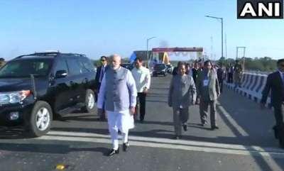 latest-news-modi-inagurated-indias-most-lengthy-rail-road-bogybeel