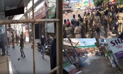 latest-news-massive-violence-in-bjp-backed-harthal-called-by-sabarimala-karmasamithi