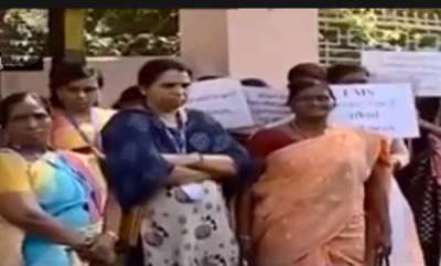 latest-news-protest-in-front-of-tvm-csi-diocese
