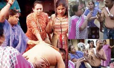 latest-news-women-attacked-a-man-video-goes-viral-in-social-media