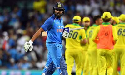 sports-rohit-sharmas-brilliant-hundred-goes-in-vain-as-india-lose-series-opener