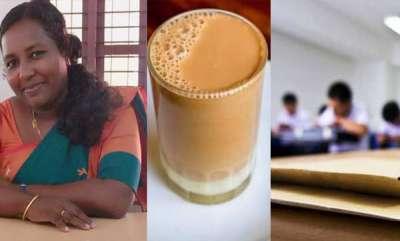 latest-news-teacher-face-book-post-about-tea-in-exam-hall