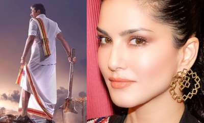 latest-news-sunny-leone-reached-kochi-shooting-madhura-raja