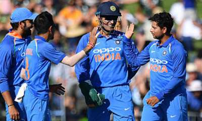 sports-india-crush-nz-by-8-wickets-in-first-odi-after-sun-induced-stoppage