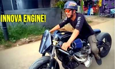 auto-toyota-innova-engine-powered-bike-virala-video