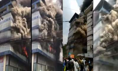 kerala-major-fire-broke-out-at-footwear-go-down-in-kochi