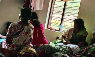 mangalam-special-perya-twin-murder-case-k-sudhakaran-visits-sharathlals-home