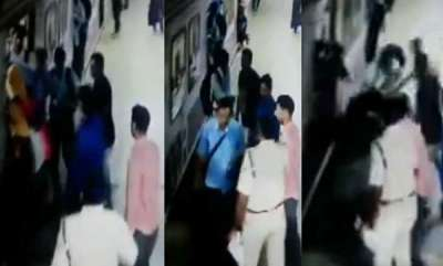latest-news-women-fall-from-train-saved-by-man