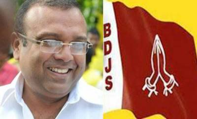 kerala-tushar-demands-for-rs-seat-to-contest-from-elections-