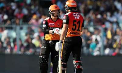 latest-news-kkr-vs-srh-dream-start-for-srh-courtesy-warner-and-bairstow