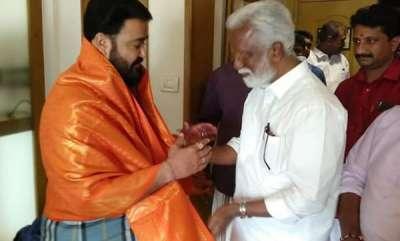 latest-news-kummanam-rajasekharan-called-on-mohanlal