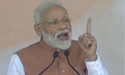 india-modi-says-his-govt-shown-courage-for-surgical-strike-in-all-spheres-land-sky-and-space