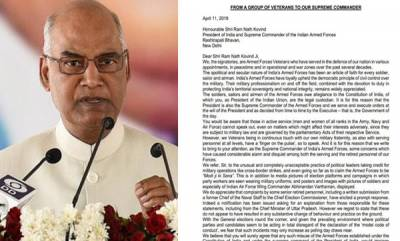 india-veterans-write-to-prez-express-outrage-over-using-armed-forces-for-political-gains