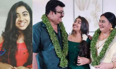 latest-news-you-are-my-everything-daughter-wishes-bindu-panicker-saikumar-on-anniversary