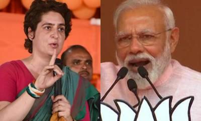 latest-news-priyanka-gandhi-likely-to-contest-against-pm-modi-in-varanasi