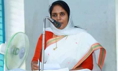 latest-news-shahida-kamal-on-stone-pelting-in-alathur