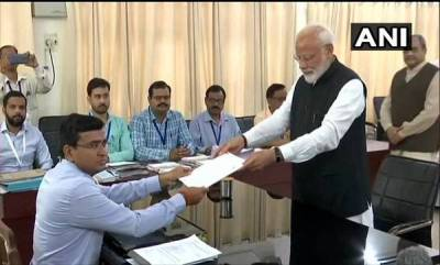 india-accompanied-by-nda-leaders-modi-files-nomination-from-varanasi