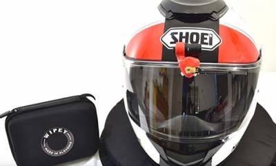 auto-helmet-wiper-system