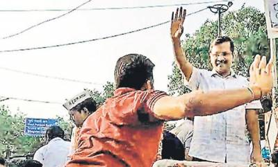 latest-news-delhi-police-book-man-who-slapped-arvind-kejriwal