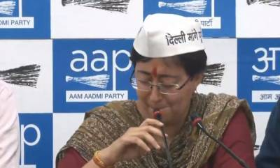 latest-news-aap-alleges-gautam-gambhir-distributed-pamphlets-calling-atishi-a-beef-eating-prostitute