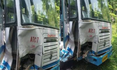 latest-news-one-killed-after-car-collides-with-ksrtc-bus-in-muthanga