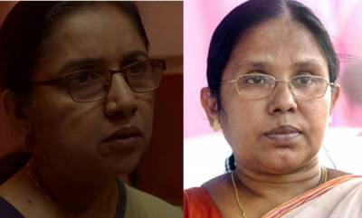latest-news-minister-shilaja-teacher-speaks-about-virus-movie-revathis-character