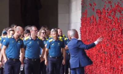 sports-news-australian-team-visits-war-monument