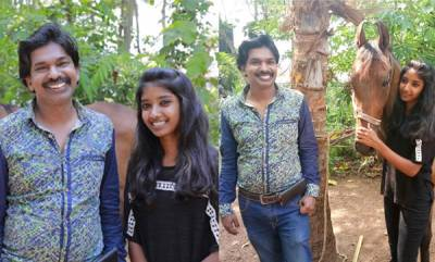 latest-news-santhosh-pandit-visit-horse-rider-krishna