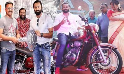 auto-actor-unni-mukundan-brought-new-jawa-bike