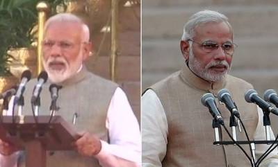 latest-news-what-pm-narendra-modi-wore-to-oath-taking-ceremony-in-2019-and-2014