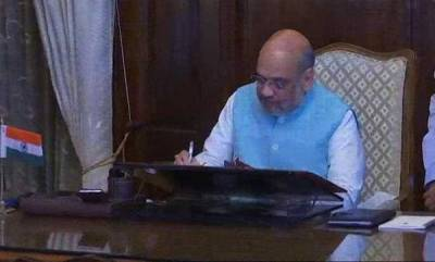 latest-news-bjp-president-amit-shah-takes-charge-as-home-minister