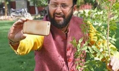 latest-news-prakash-javadekar-launches-selfiewithsapling-campaign-world-environment-day
