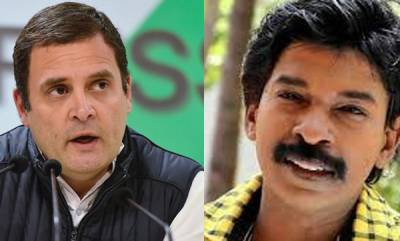 latest-news-santhosh-pandit-facebook-post-about-rahul-gandhi