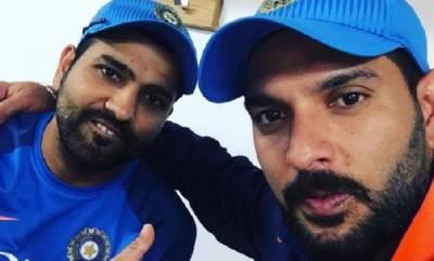 sports-news-rohit-sharmmas-tweet-about-yuvraj-singh