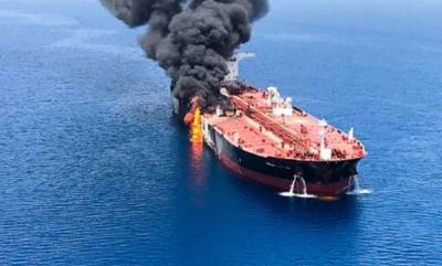world-two-oil-tankers-attacked-in-gulf-of-oman-us-blames-iran