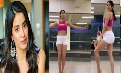 latest-news-janvi-kapoor-dances-along-with-exercise