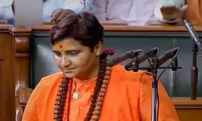 latest-news-sadhvi-pragya-creates-controversy-with-her-name-during-oath-taking