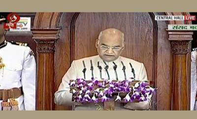india-president-kovind-urges-support-to-end-malpactices-like-triple-talaq-in-address-to-joint-parliament-session