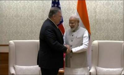 latest-news-us-secretary-of-state-mike-pompeo-meets-prime-minister-narendra-modi