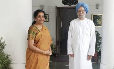 latest-news-nirmala-sitharaman-meets-manmohan-singh-days-before-her-first-budget