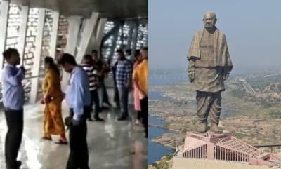 latest-news-rain-pours-inside-statue-of-unity