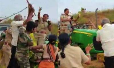 latest-news-woman-forest-range-officer-attacked-by-villagers-in-telangana