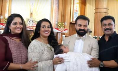 latest-news-dileep-kavya-attends-kunjakko-bobans-sons-baptism