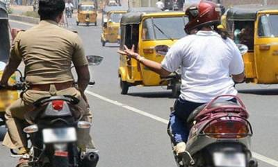 latest-news-new-order-for-ensure-helmet-for-cops-in-kerala-police-when-drive-two-wheeler